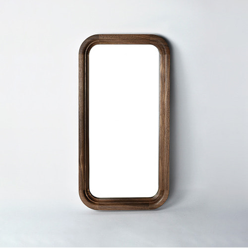 rounded rectangle mirror